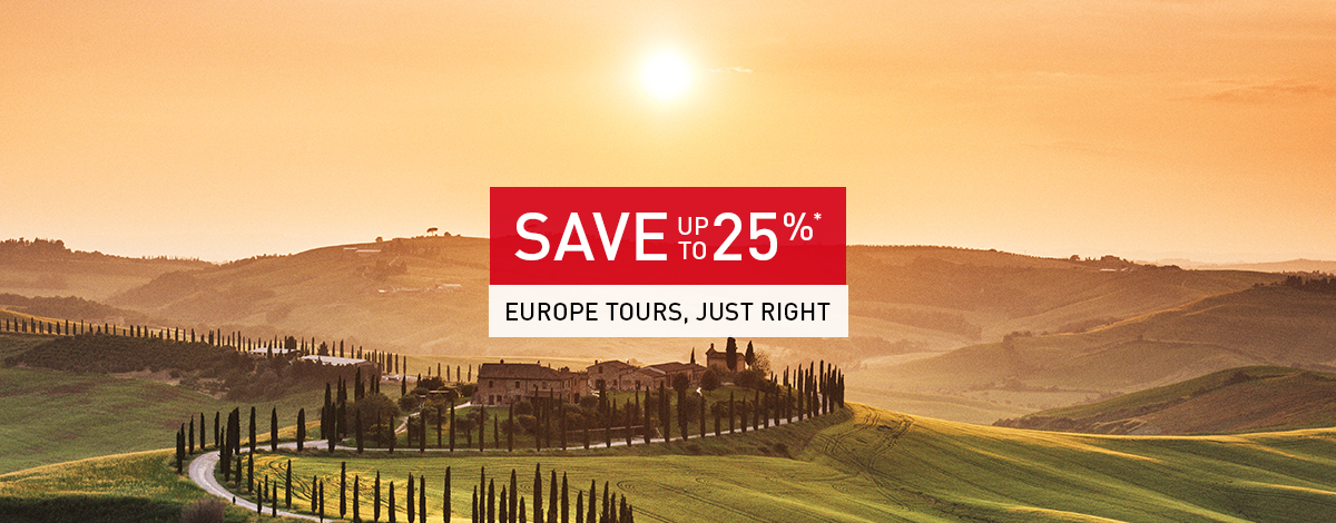 June Tours Deals Banner